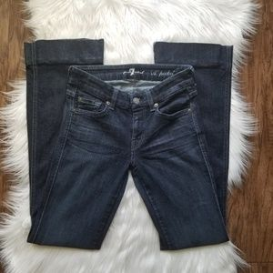7 For All Mankind Flare Jeans Long Inseam 31
